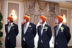 Jayne hats as wedding attire!  So funny, although I guess it might look weird to people who haven't seen Firefly!