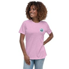 WONDER - Women's Relaxed T-Shirt - Heather Prism Lilac / S