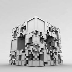 Pure Emergence: Tom Beddard's Amazing Fractal Architecture - Architizer
