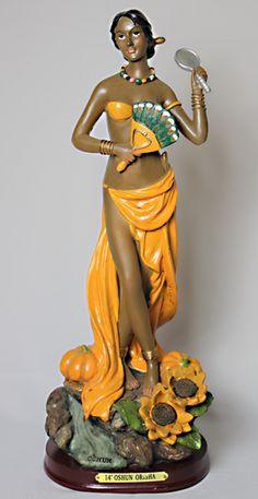 "$42 Statue of Oshun 14"" : Botanica Ile Iwa-Oruna"