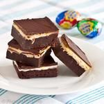 cadbury egg brownies