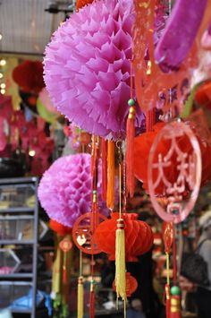 Chinese new year's decorations