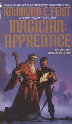 Magician: Apprentice by Raymond Feist  One the first to get me hooked on fantasy books.