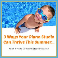 I'll be using these 3 ideas in my piano studio this summer - so simple, but I can see the benefit!