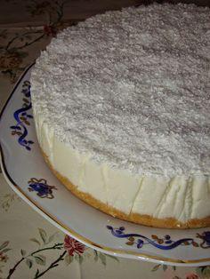 Cristina's world: Tort Raffaello Sweet Tarts, Food Cakes, Cheesecakes, Nutella, Pavlova, Biscuit, Cake Recipes, Desserts, Roman
