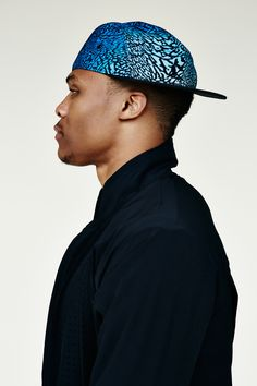 Russell Westbrook XO Barneys New York nice hat.
