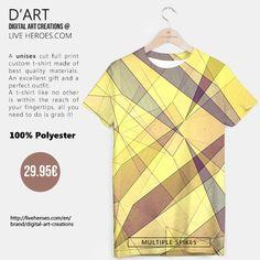 #abstract #art #modern #fractal #geometric #polygons #triangles #sharp #crystals #spikes #geometry #mesh #shapes #forms #unisex #tshirt #liveheroes #liveheroesshop #digitalartcreations