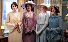 Downton Abbey | Though Fellowes wouldn't confirm the wedding, it's evident that that the guest list will include Mary's mother and sisters (Dockery, from left, with Elizabeth McGovern,…