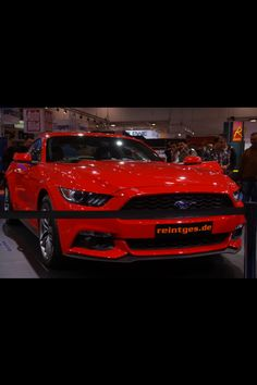 Ford Mustang 2014! Essen Motorshow