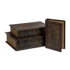 Manufacturer: IMAX Worldwide. Category: Home Accents Home Accents > Decorative Boxes Traditional. Set of 3. Full Size Image. | eBay!