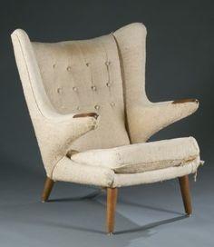 Hans Wegner Papa Bear chair.