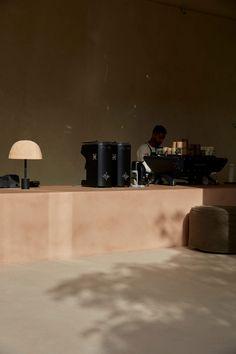 Cafe Interior Design, Cafe Design, Home Interior, Studio Design, Light Architecture, Interior Architecture, Cafe Seating, Tadelakt, Abu Dhabi