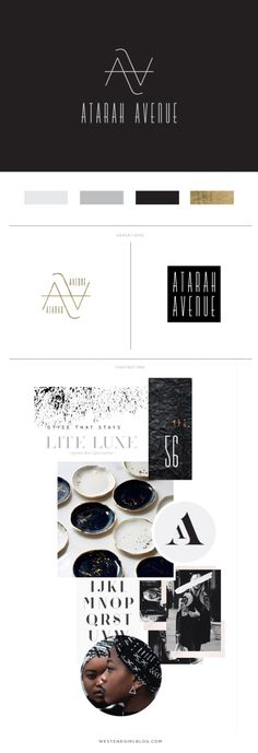 Atarah Avenue Branding