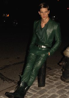 Every Man Needs a Pair of Leather Pants. Here's How to Wear Them..
