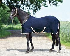 BUSSE Softshell-Ausreitdecke schwarz Nierendecke Regendecke Pferdedecke pferdo24