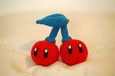 Cerise (mario) patron crochet amigurumi gratuit français (free pattern)