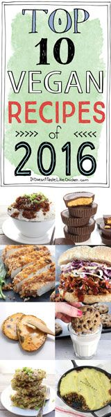 Top 10 Vegan Recipes of The most popular trending vegan recipes from over the year. Easy, quick, desserts, dinners, it's all there! A great place to start for new vegans. Vegan Cheese Recipes, Vegan Breakfast Recipes, Vegan Foods, Vegan Dishes, Vegan Desserts, Vegetarian Recipes, Healthy Recipes, Vegan Appetizers, Vegetarian Chili