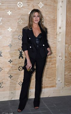 Bust out a leather Louis Vuitton bustier like Jennifer #DailyMail