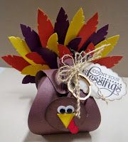 Stampin Along With Heidi: WCC11 Gobble, gobble---Curvy Keepsake box Thanksgiving fun!