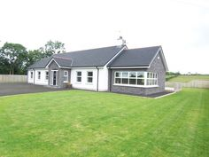 162 Finvoy Road, Ballymoney - Property For Sale - McAfee Ballymoney Modern Bungalow Exterior, Modern Bungalow House, Bungalow House Plans, Bungalow Ideas, Dormer House, Dormer Bungalow, House Designs Ireland, Bungalow Extensions, Recessed Ceiling Lights