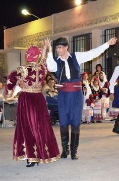 Greek Traditional Dress, Greek Costumes, Folk Clothing, Folk Dance, Black Boots, Culture, Formal, Clothes, Fashion