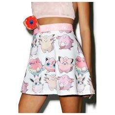 Star Struck Skirt ($30) ❤ liked on Polyvore featuring skirts, pink skirt, pastel pink skirt, elastic waist skirt, pastel skater skirt y flared skirt