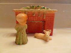 Vintage Candles, Vintage Ornaments, Vintage Santas, Vintage Holiday, Christmas Past, Before Christmas, White Christmas, Christmas Holidays, Christmas Candles