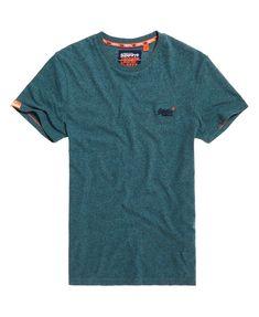 98d8625e Men's T Shirts. Vintage EmbroiderySuperdryLabel