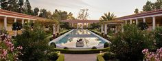 The Getty Villa. Best times to visit LA are March through May and September through November