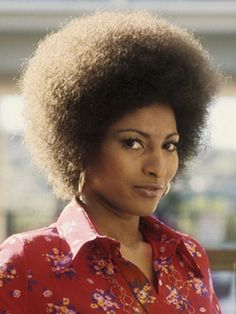 Pam Grier's iconic afro set the stage for today's naturalistas.