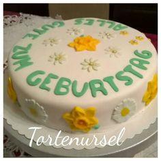 Frühlingshafte Geburtstagstorte Cake, Desserts, Food, Birthday Cake Toppers, Pies, Pie Cake, Tailgate Desserts, Pastel, Meal