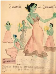 Lingerie Prestige vintage slips and half slips in pastel pink - Vintage Soul, Vintage Diy, Vintage Beauty, Vintage Trends, French Lingerie, Retro Lingerie, Vintage Dresses, Vintage Outfits, Vintage Fashion