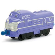 Chuggington Die-Cast Harrison by TOMY. $7.04. Durable die-cast construction. Collect all of your favorite Chuggington characters!. Secure couplings easily connect to other vehicles. Stack Track Compatible. Realistic Details. From the Manufacturer                Everyone knows Harrison is the fastest chugger in Chuggington--his name has been on the Great Chugger Championship trophy as long as he can remember. Smooth, charming and a bit of a show-off, he enjoys giving the traine...