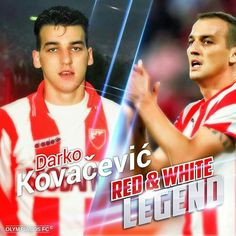 Red Star Belgrade, Football Players, Red And White, Instagram, Club, Soccer Players