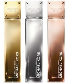 Michael Kors Gold Fragrance Collection. Yellow (straight up seductive)