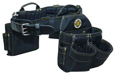 Rack-A-Tiers 43243 Electrician's Combo Belt & Bags - Larg…