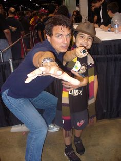 John Barrowman is an excellent human being.  (click for adorable story)