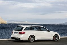 2014-Mercedes-Benz-E63-AMG-7    Fits surfboards and goes fast. Winning.