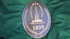 BCC in bronze - cast bronze plaque by Erie Landmark Company a division of Paul W. Zimmerman Foundries celebrating 75 years of plaques!   Find us on the web at www.erielandmark.com or place an order at info@erielandmark.com.