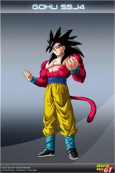 Dragon Ball GT - Goku SSJ4 OS by DBCProject on DeviantArt