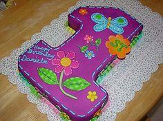torta de flores y mariposas - Buscar con Google
