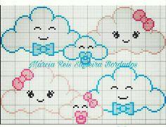 Cross stitch borders, cross stitch pillow, cross stitch for kids, cross sti Baby Cross Stitch Patterns, Cross Stitch Pillow, Cross Stitch For Kids, Cute Cross Stitch, Cross Stitch Borders, Cross Stitching, Cross Stitch Embroidery, Hand Embroidery, Embroidery Patterns
