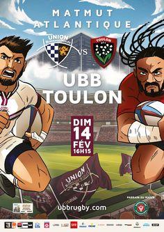 UBB - Toulon au Matmut Atlantique, dimanche 14 février, 16h15