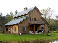 Barn plans with living quarters the caretaker pole barn designs with living quarters . Pole Barn Kits, Barn House Kits, Barn House Plans, Barn Plans, House Floor Plans, Barn Houses, Metal Building Homes, Building A House, Metal Homes