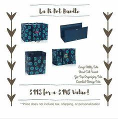 La-Di-Dot bundle  Www.mythirtyone.com/jyingling