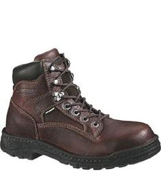 "W04375 Wolverine Men's 6"" Exert Safety Boots - Briar"