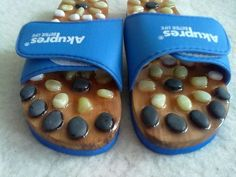 ACUPRESSURE WITH STONES SLIMMING MASSAGE SHOES SLIPPERS AKUPRES BETTER LIFE #AKUPRESBETTERLIFE