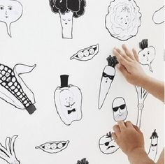 Green Mob Wall Stickers  $44.95 #playroom #fun #kids #sweetcreations