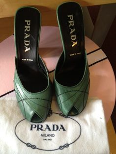 Look at these gems! Prada size 5.5 - Sold!  $75.99