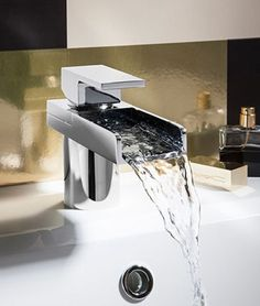 Crosswater taps and mixers for bathrooms, collections for basins, baths, bidets plus designer and digital products, and the latest in new tap designs. Bathroom Taps, Steam Showers Bathroom, Modern Bathroom, Small Bathroom, Bathroom Ideas, Cascade Design, Steam Spa, Basin Taps, Family Bathroom